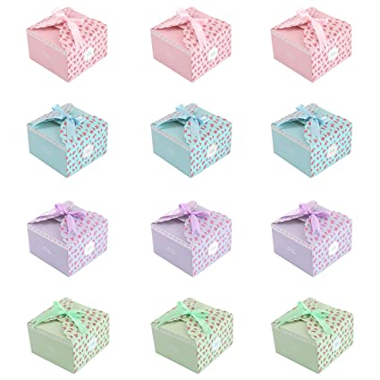 Amazon Missshorthair Gift Boxes12 Pack Floral Decorative Boxes