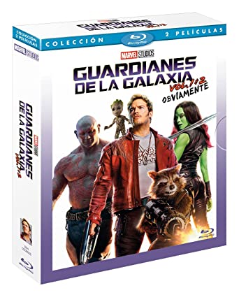 Pack: Guardianes De La Galaxia 1 + Guardianes De La Galaxia 2 Blu ...