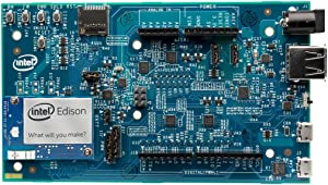 Intel Edison Kit for Arduino [Dual Core Intel Atom IA-32 500MHz, 4GB eMMC Storage, Bluetooth 4.0, WiFi Enabled]