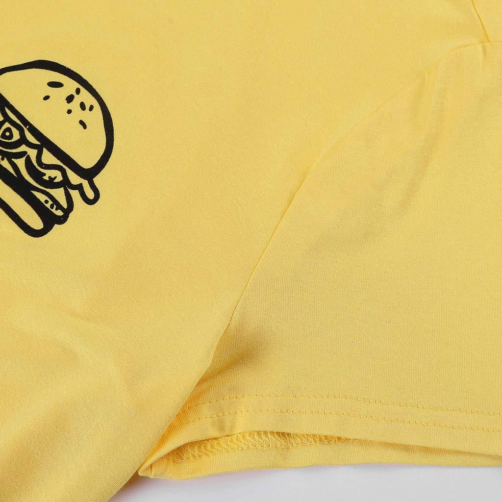 Pingtr Tank Tops for Women Summer Women T-Shirt Printing Short Sleeve O Neck Casual Blouse