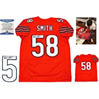 Roquan Smith Autographed Signed Jersey - Orange - Beckett Authentic photo