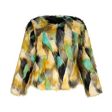 quality design 57f38 d1ec6 YuanDian Donna Autunno Inverno Casual Colorato Colore ...