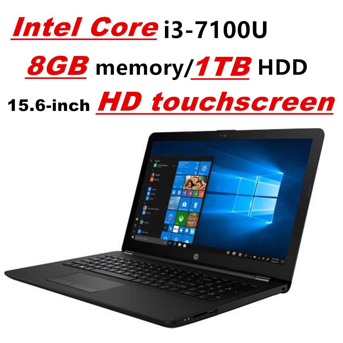 HP Pavilion Laptop PC Notebook, Intel Core i3-7100U, 8GB DDR4, 1TB HDD,  15 6