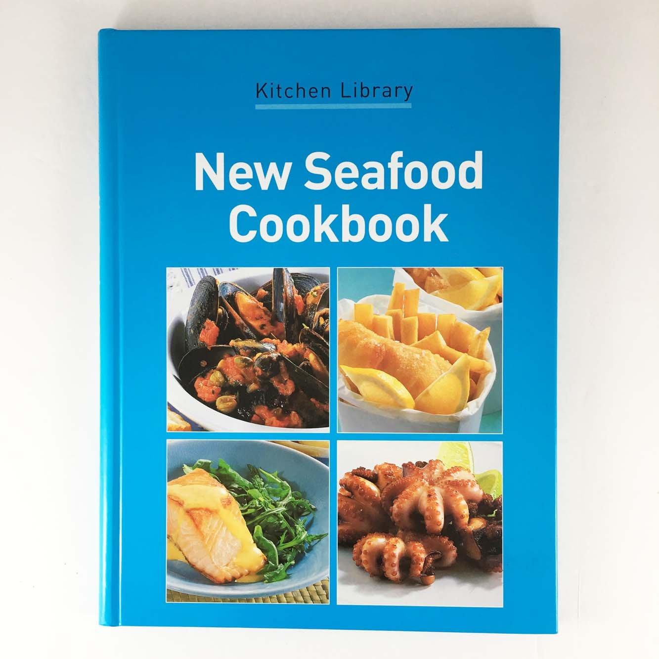New Seafood Cookbook (Kitchen Library): Wendy Stephen, Jane Lawson ...