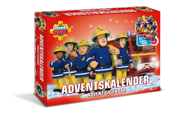 Craze 13861 - Feuerwehrmann Sam Adventskalender, mit Spielzeug und Figuren CRAZE GmbH