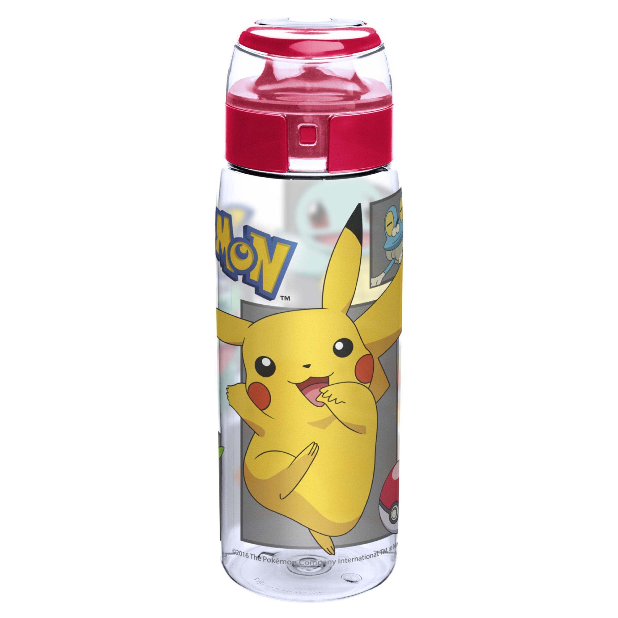 Pokemon POKC-K952 Pikachu Water Bottles 25 oz. by Zak Designs
