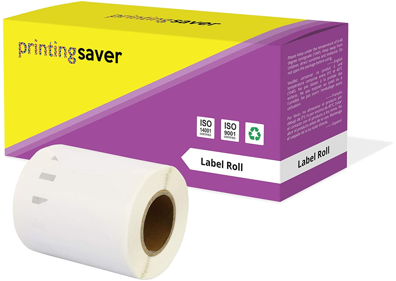 per Dymo LabelWriter 310 320 330 4XL 400 450 Turbo//Twin Turbo//Duo /& Seiko SLP etichettatrici 500 Etichette//Rotolo Printing Saver 2x 11352 25 x 54 mm Compatibili Rotoli Etichette adesive