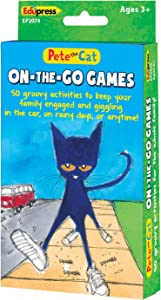 Edupress Pete The Cat On-The-Go Games (EP62074)