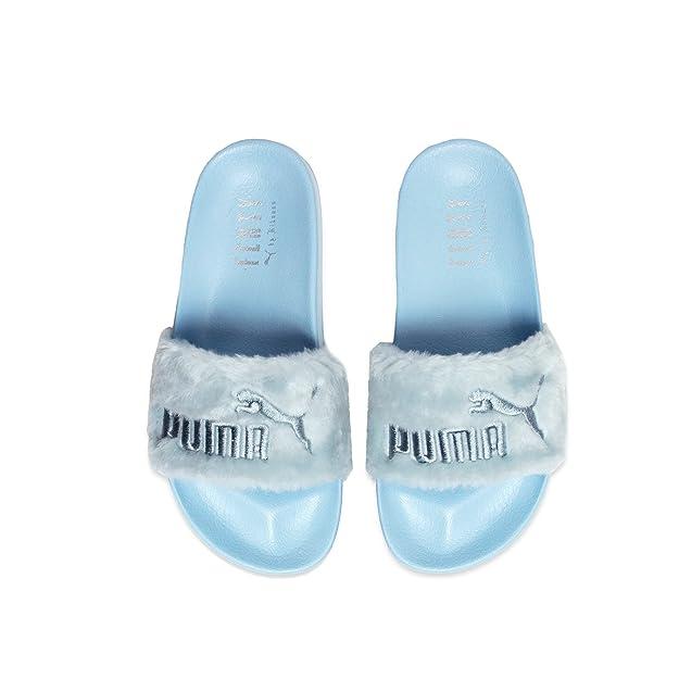 separation shoes a7056 5aa00 Amazon.com | PUMA Womens Fur Slide | Sandals