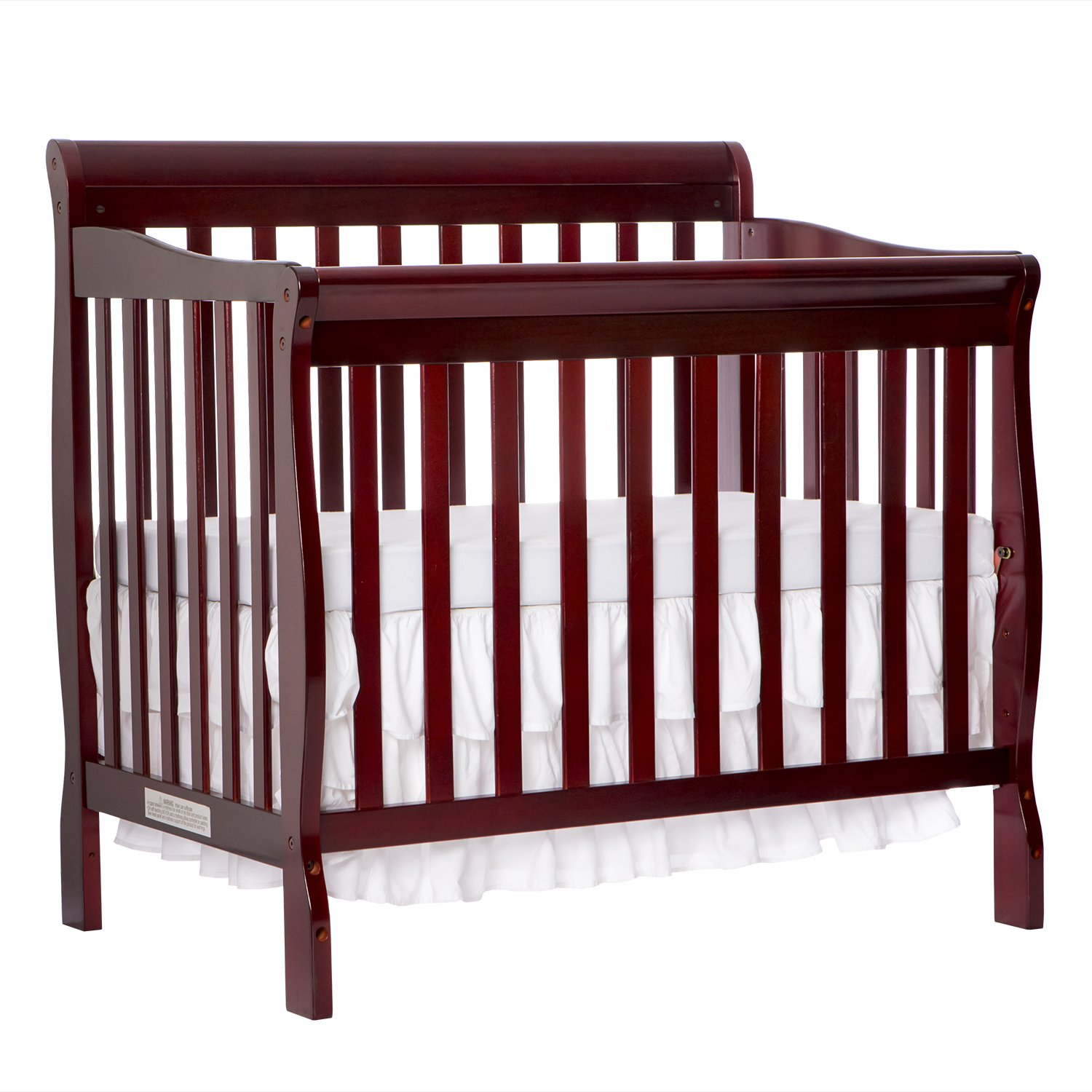 that amazon beds davinci cribs conversion baby com turn size into kit full cherry rails twin dp bed nursery