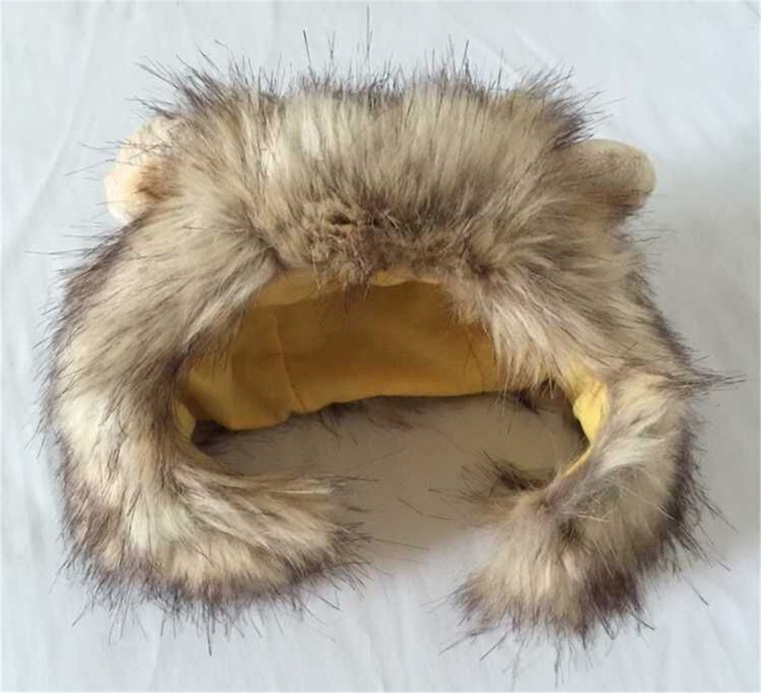 Dog Lion Mane Wigs Costume Cosplay Hair Party Fancy Dress Pet Cat Toy by ISHOWStore (Image #3)