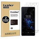 iVoler [2-Unidades] Protector de Pantalla Sony Xperia XZ2 Compact, Cristal Vidrio Templado Premium para Sony Xperia XZ2 Compact [9H Dureza] [Alta Definicion 0.2mm] [2.5D Round Edge]