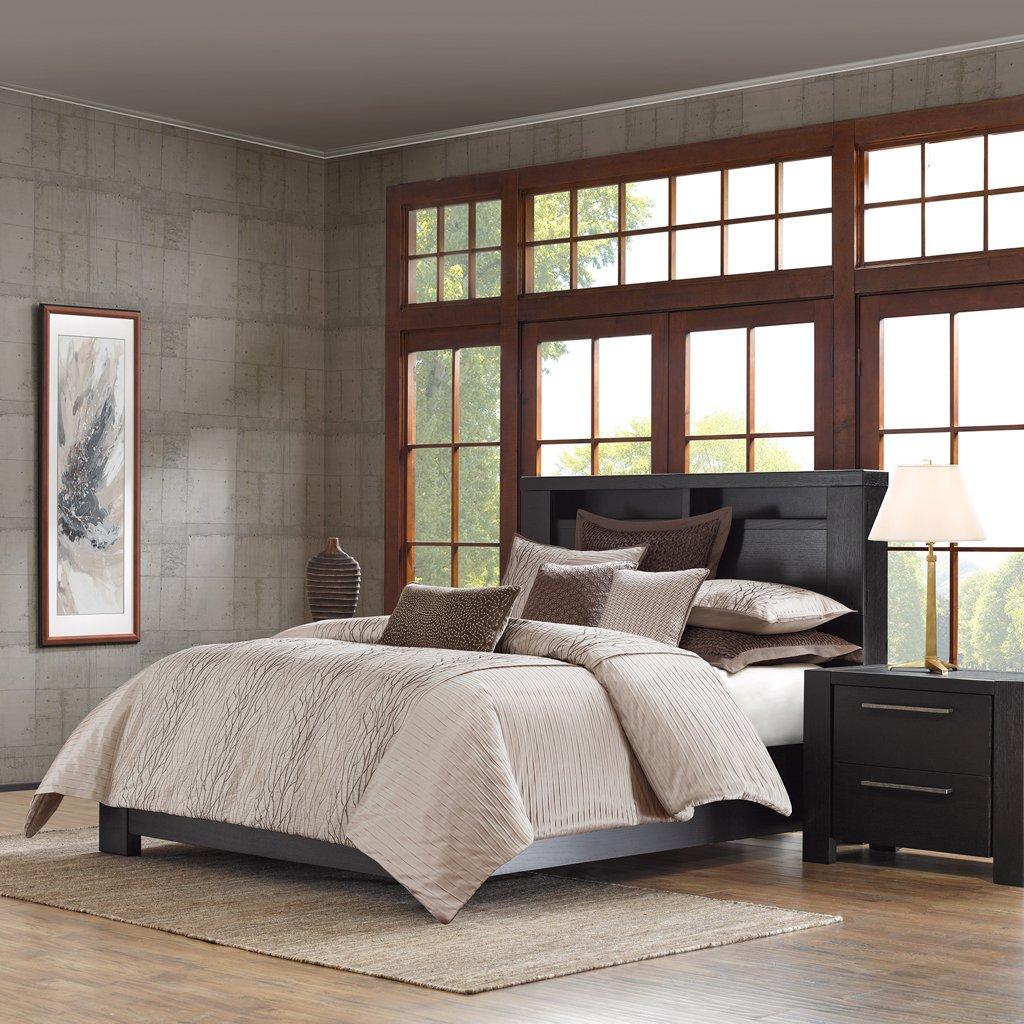 set quilt print grey itm twin cover twilight ebay bed duvet metallic moon new s doona