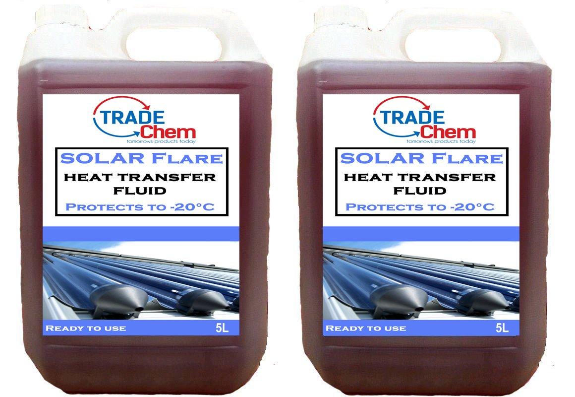 Solar Flare transferencia de calor sistema de líquido anticongelante calentador de agua 10L litros L: Amazon.es: Coche y moto