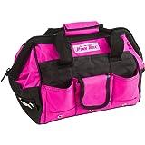 The Original Pink Box PB12TB 12-Inch Tool Bag, Pink