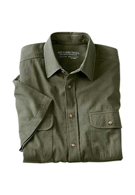 28c3b177bd1 Boulder Creek Men s Big   Tall Short-Sleeve Renegade Shirt at Amazon Men s  Clothing store