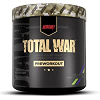 Redcon1 Total War Preworkout Powder - 30 Servings, (Sour Gummy) Boost Energy, Increase Endurance and Focus, Beta-Alanine…