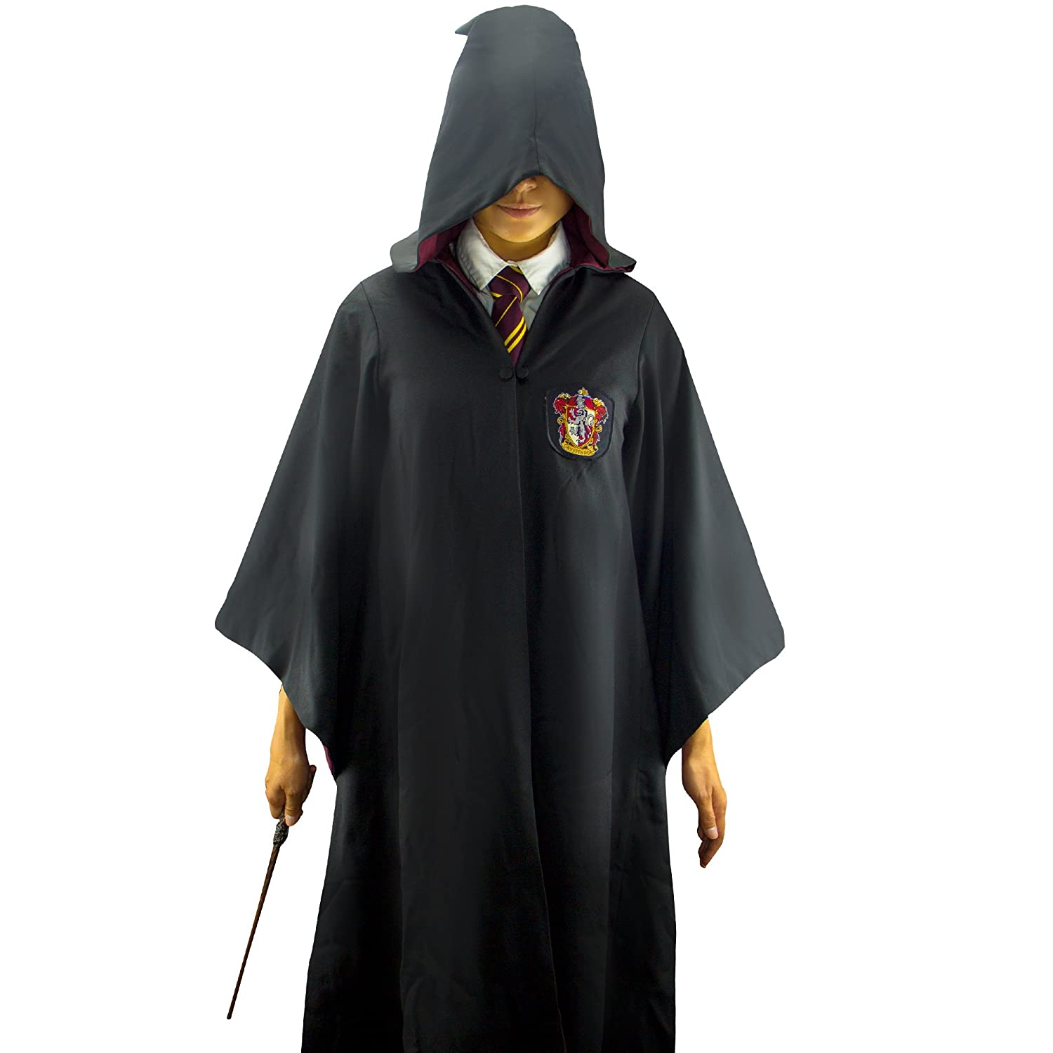 Amazon.com  Harry Potter Robe - Authentic Official Tailored Wizard Robes  Cloak - Adults and Kids Size - Cinereplicas  Clothing 45daabdf5
