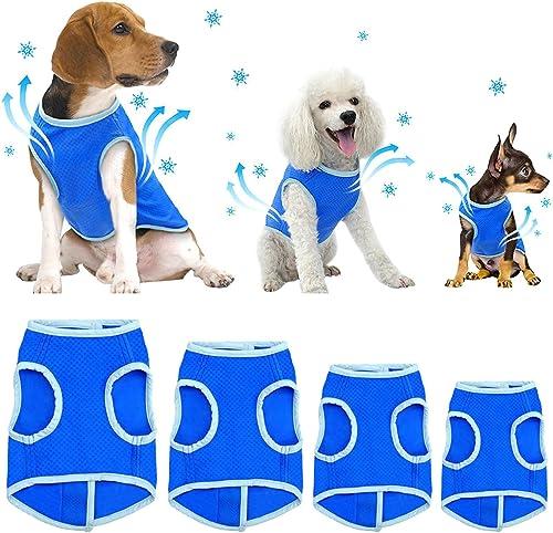 SELMAI-Dog-Swamp-Cooler-Vest-Harness-Evaporative-Jacket-Comfort-Adjustable-Breathable-Cooling-Coat