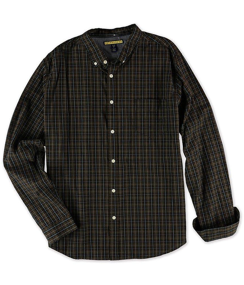 Aeropostale Mens Plaid Button Up Shirt