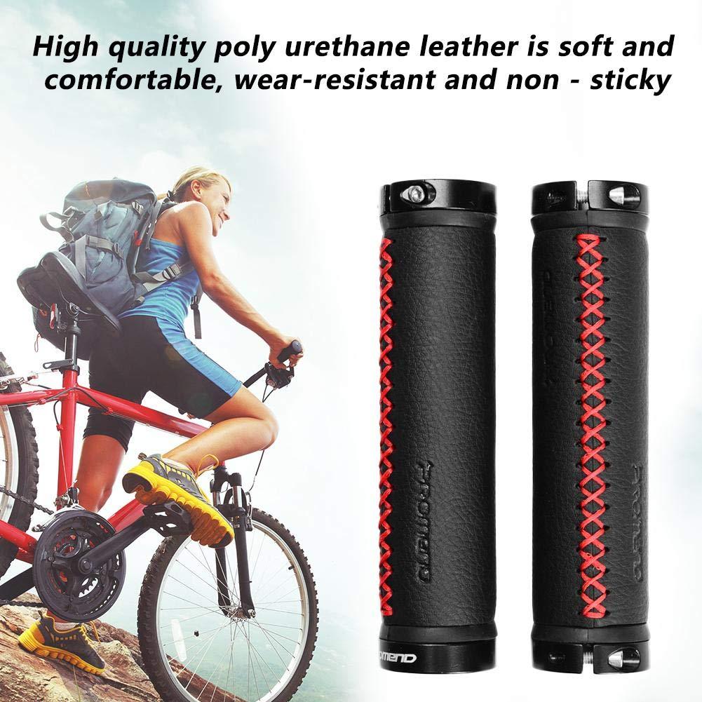 Funihut Fahrrad Griffe MTB Lenker Roller Lenkergriffe Moosgummi /Überzug//Schaumstoff Oder Leder Optik Kunstleder Retro Look