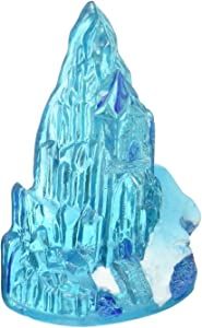 Officially Licensed Disney's Frozen Ice Castle Mini Ornament: Instantly Create An Underwater Frozen Scene, Perfect For Fans Of Disney's Frozen! Perfect For Fish Tanks And Small Aquariums! (FZR32)