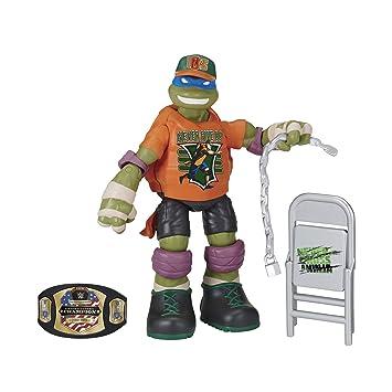 Teenage Mutant Ninja Turtles WWE Súper Estrellas Leonardo ...