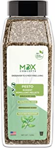 MDXconcepts Pesto Rodent Organic Peppermint Oil Repellent Pellets – Effective Alternative for Mouse Traps - 100% Naturally Derived – Effective for Up to One Year – Repels All Mice and Rats - 1.25lbs