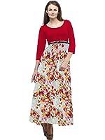 Cottinfab Women Rayon Dress