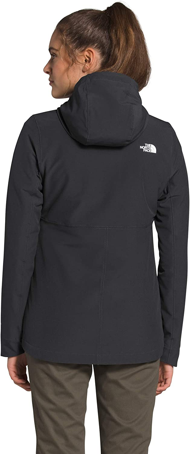 The North Face Damen Shelbe Raschel Hoodie Grau - Asphalt Grey