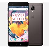 "OnePlus 3T (A3000) 128GB Gunmetal - Dual SIM [Android 6.0.1, 5.5"" Snapdragon 821, 16.0MP, Optic AMOLED]"