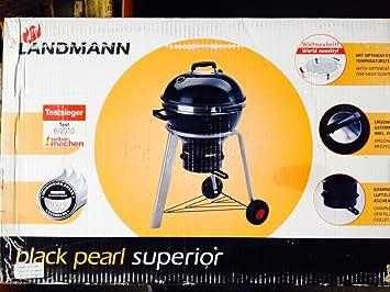 Landmann Holzkohlegrill Black Pearl : Landmann kugelgrill black pearl superior: amazon.de: garten