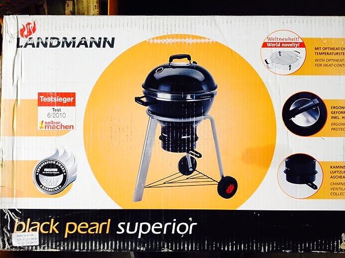 landmann black pearl test bestseller vergleich. Black Bedroom Furniture Sets. Home Design Ideas