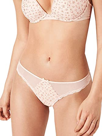 49237bff5a Image Unavailable. Image not available for. Color  Victoria s Secret Dream  Angels Gold Foil Embroidery Stars Cheekini Panty Large