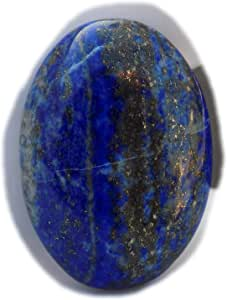 The Best Jewellery Lapis Lazuli cabochon, 36Ct Lapis Lazuli Gemstone, Oval Shape Cabochon For Jewelry Making (28x20x6mm) SKU-15122