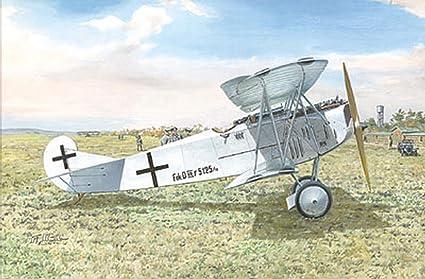 Roden Fokker E.V//D VIII Flying Razor German Fighter Airplane Model Kit