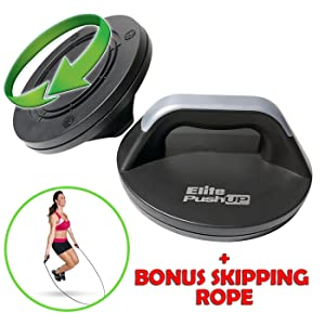 Elite Perfect Push Up Bars - Rotating