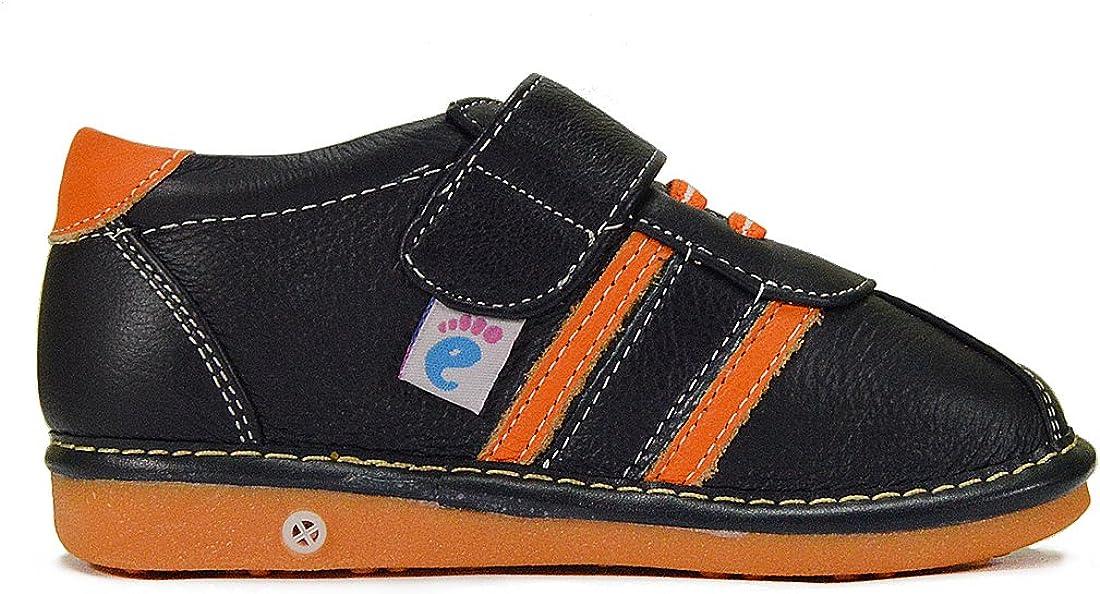 HLT Toddler//Little Kid Boy Cool Sporty Stripe Squeaky Shoe