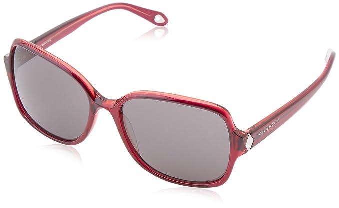 Givenchy Gafas de Sol SGV 873-N18 (58 mm) Rojo: Amazon.es ...