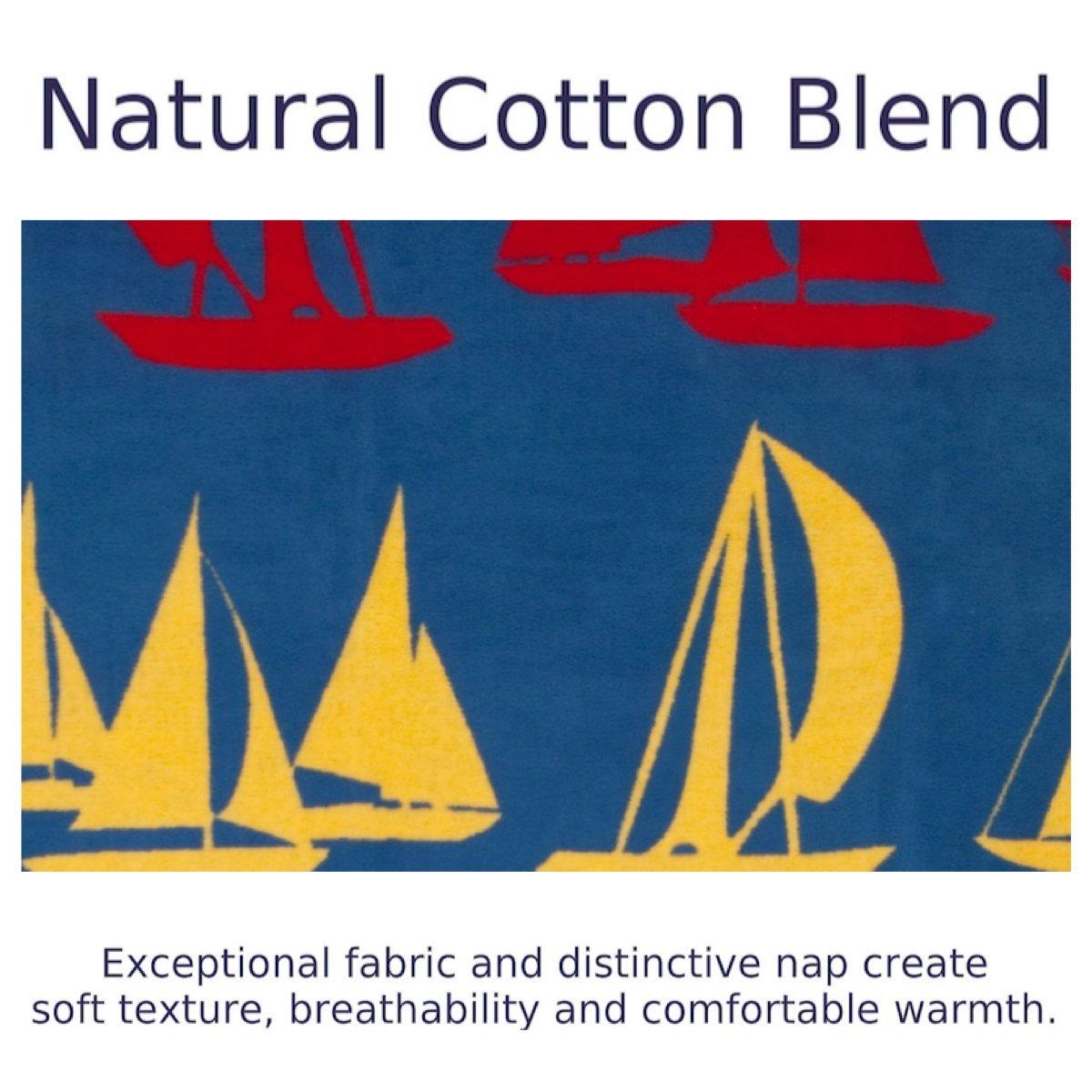 ChappyWrap Oversize Cotton Throw Blanket - Coastal Living Collection by ChappyWrap (Image #4)