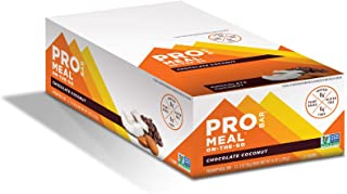 product image for PROBAR - Meal Bar, Chocolate Coconut, Non-GMO, Gluten-Free, Healthy, Plant-Based Whole Food Ingredients, Natural Energy, 3 Ounce (Pack of 12)