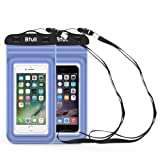 Amazon Price History for:[2 Packs] Bfull Waterproof Phone Case With Dual Waterproof Measures, Universal Cell Phone Dry Bag Pouch for Outdoor Activities for Devices up to 6.0'' (Blue)
