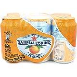 S.Pellegrino 圣培露 含气甜橙果汁饮料 330ml*6(意大利进口)