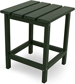 "product image for POLYWOOD ECT18GR Long Island 18"" Side Table, Green"