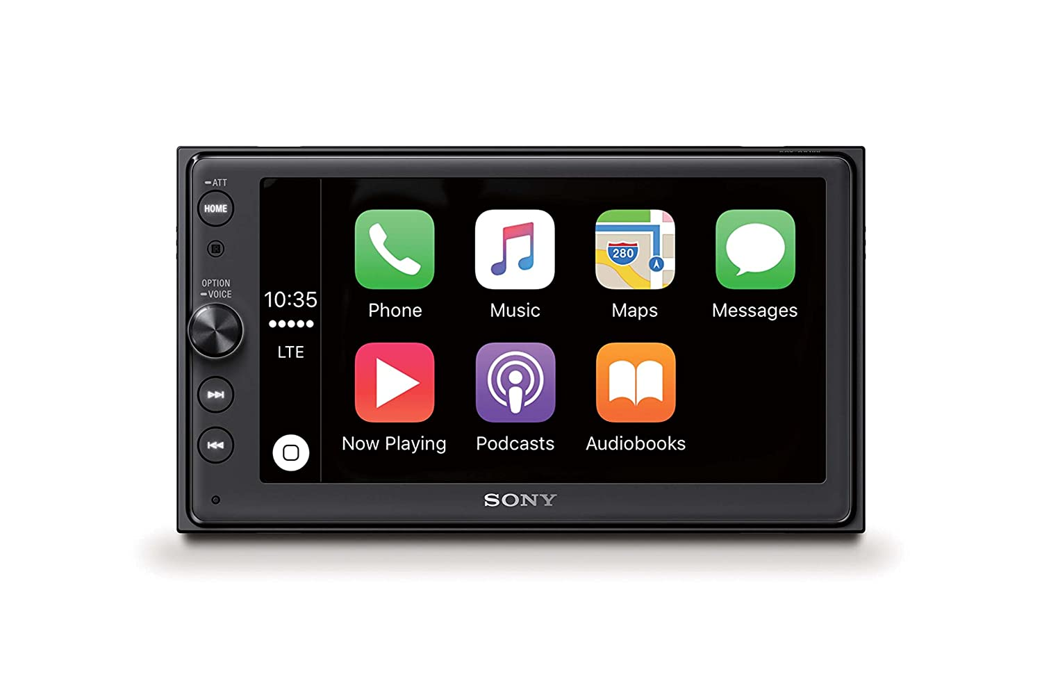 Sony XAV-AX100 6 4 inch Media Receiver with Bluetooth, CarPlay and Android  Auto, 4 x 55 W
