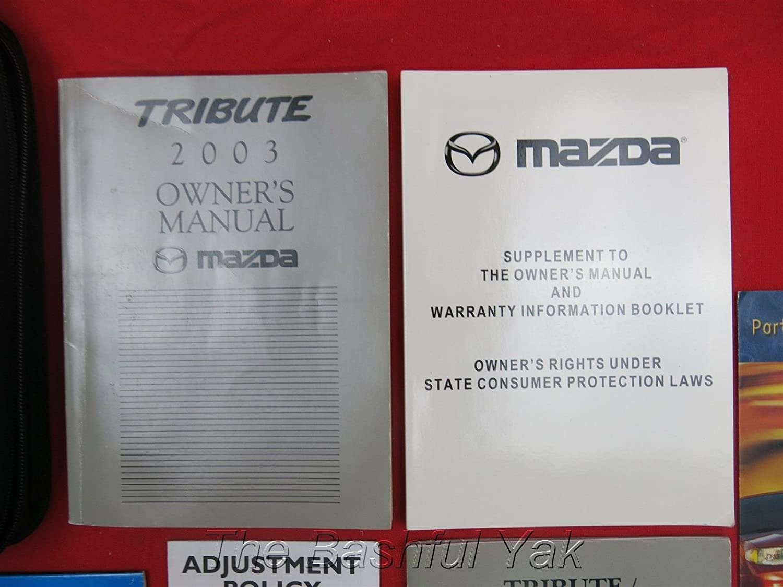 Amazon 2003 mazda tribute owners manual mazda car electronics publicscrutiny Image collections