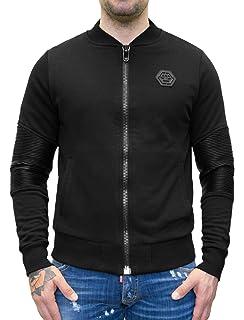 dea063b139074 Philipp Plein - Bullet - Crewneck Sweatshirt with Crystal ...