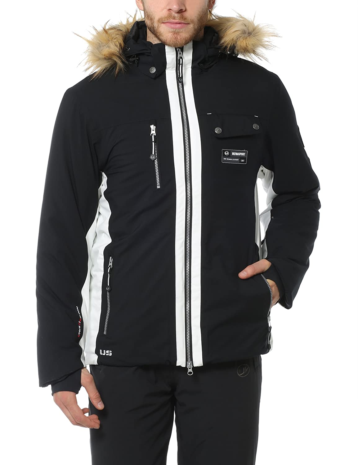 Ultrasport Herren-Funktions-Alpin-Outdoorjacke Softshell Snowfox mit Ultraflow 8.000