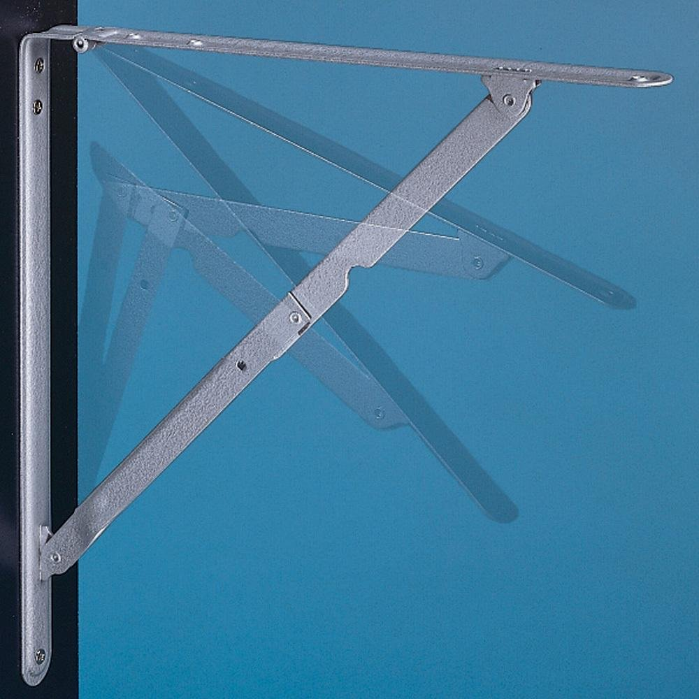 12 x 12 Folding Shelf Brackets (Pair) by Ultra Hardware: Amazon.co ...