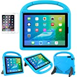 iPad 2/3/4(Old Model) Case for Kids - SUPLIK Durable Shockproof Protective Handle Bumper Stand Cover with Screen Protector for Apple iPad 2nd,3rd,4th Generation, Blue